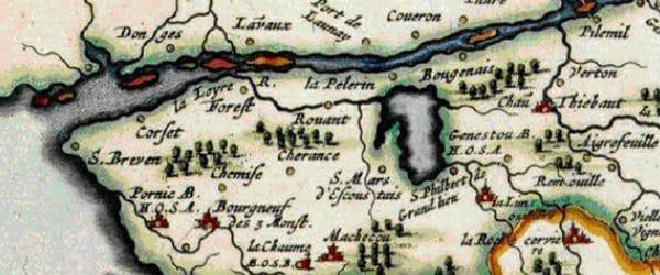 Ancienne carte du Pays de Retz