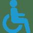 accès personne à mobilité réduite