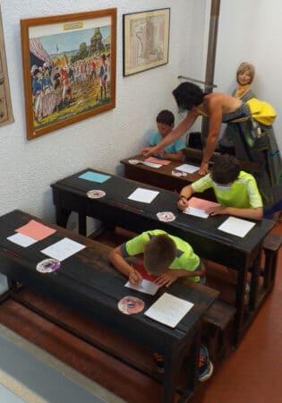 Jeux du mercredi - Atelier d'écriture en plume